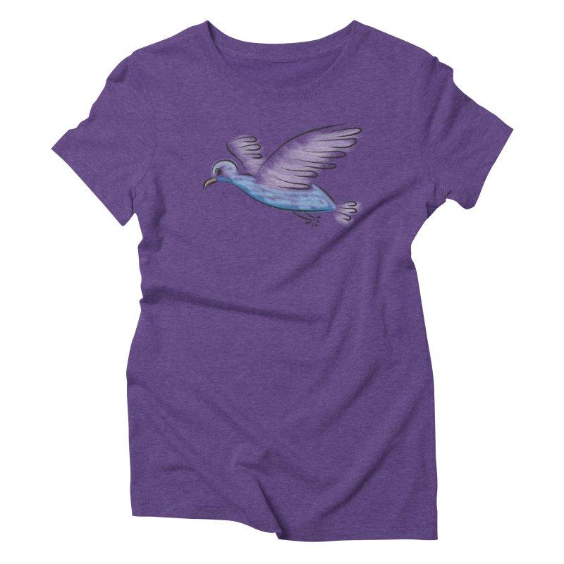Birdie Women's Triblend T-Shirt by Puttyhead's Artist Shop
