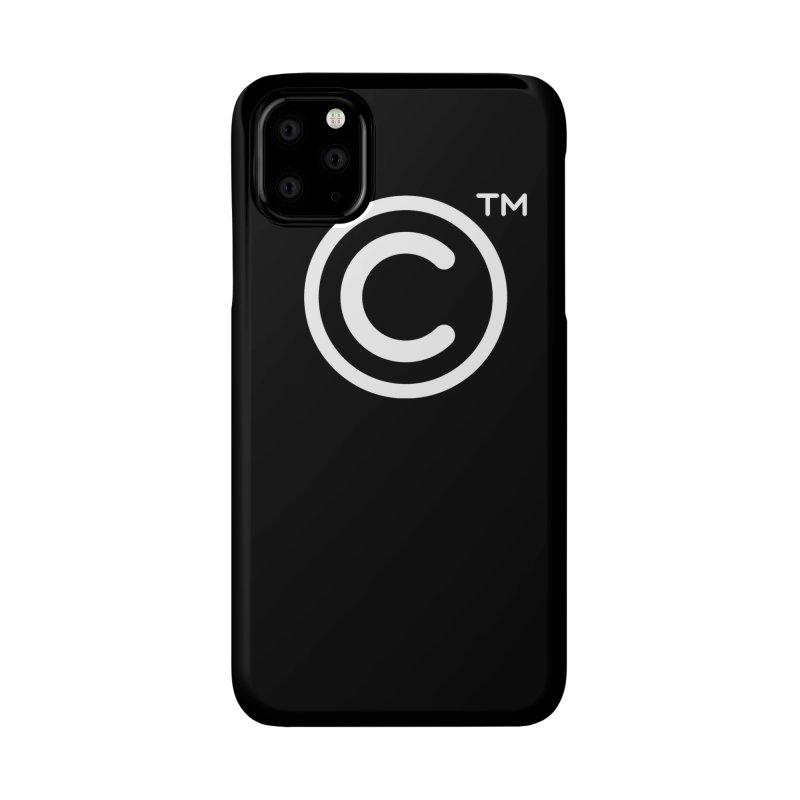 Copyright, Trademark Accessories Phone Case by Puttyhead's Artist Shop