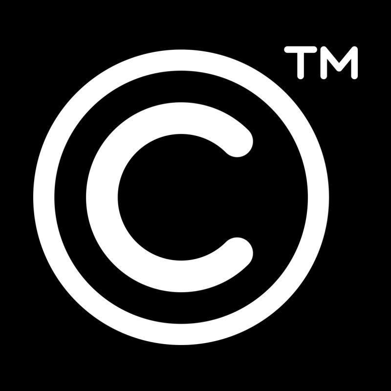 Copyright, Trademark Women's Scoop Neck by Puttyhead's Artist Shop