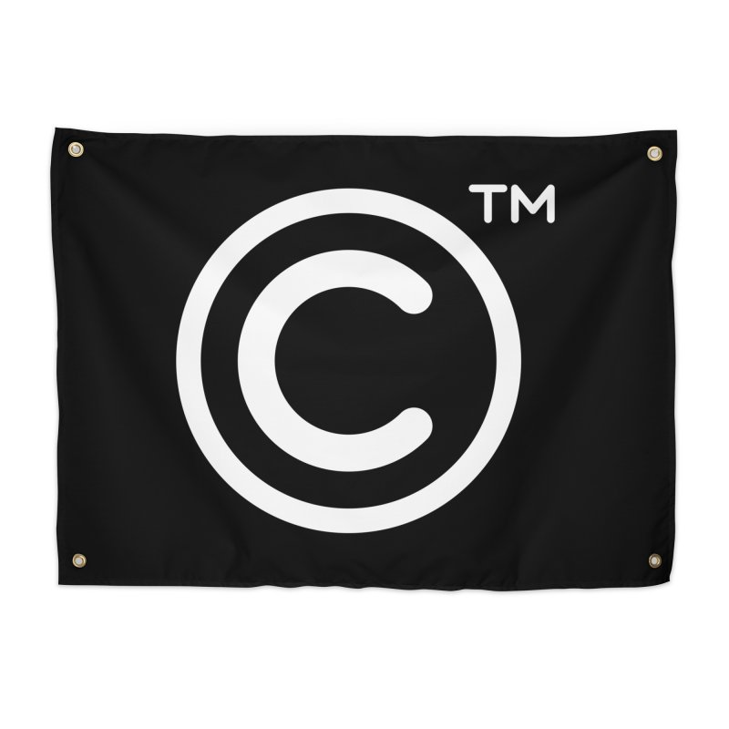 Copyright, Trademark Home Tapestry by Puttyhead's Artist Shop