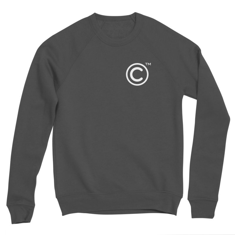 Copyright, Trademark Women's Sponge Fleece Sweatshirt by Puttyhead's Artist Shop