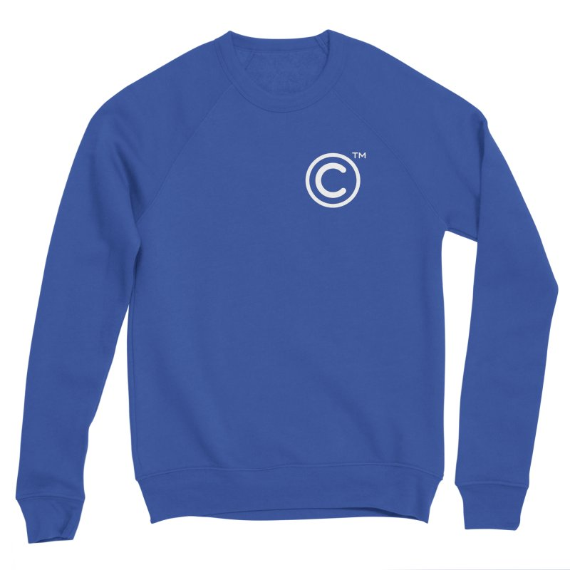 Copyright, Trademark Men's Sponge Fleece Sweatshirt by Puttyhead's Artist Shop