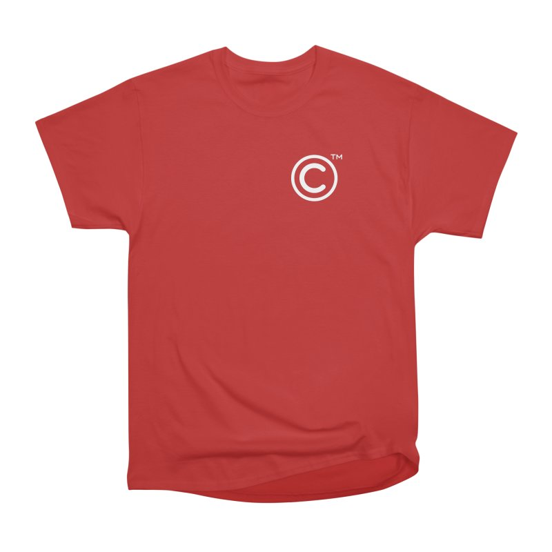 Copyright, Trademark Men's Heavyweight T-Shirt by Puttyhead's Artist Shop