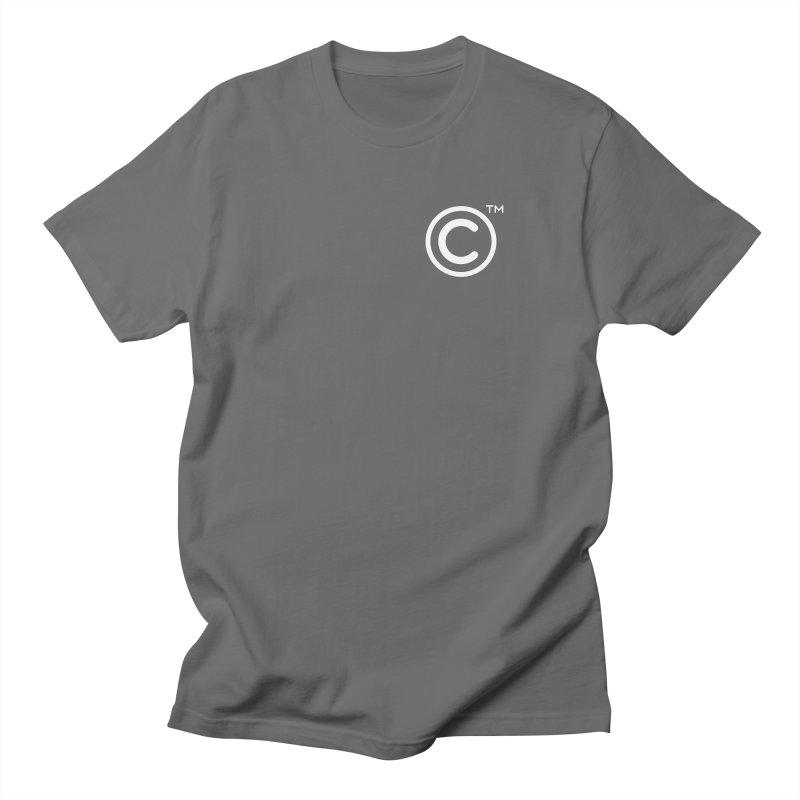 Copyright, Trademark Men's T-Shirt by Puttyhead's Artist Shop