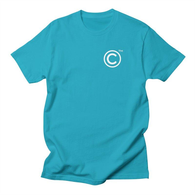 Copyright, Trademark Men's Regular T-Shirt by Puttyhead's Artist Shop