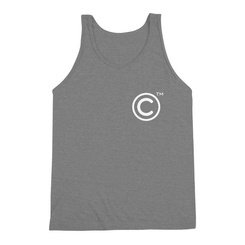 Copyright, Trademark Men's Triblend Tank by Puttyhead's Artist Shop
