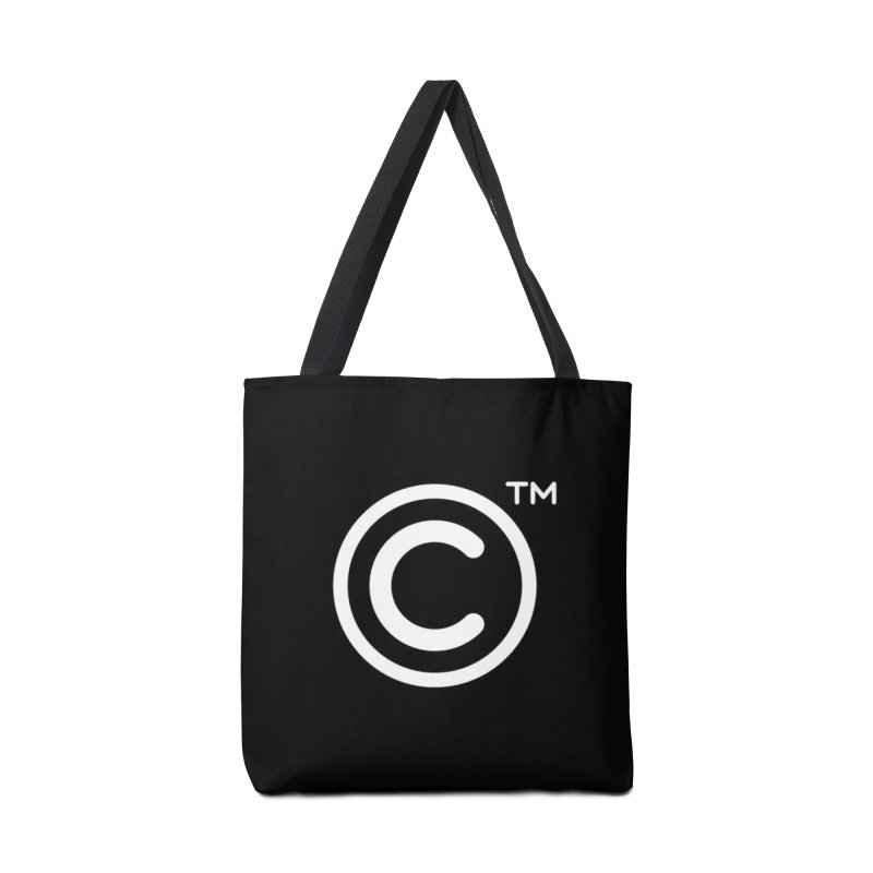 Copyright, Trademark Accessories Tote Bag Bag by Puttyhead's Artist Shop