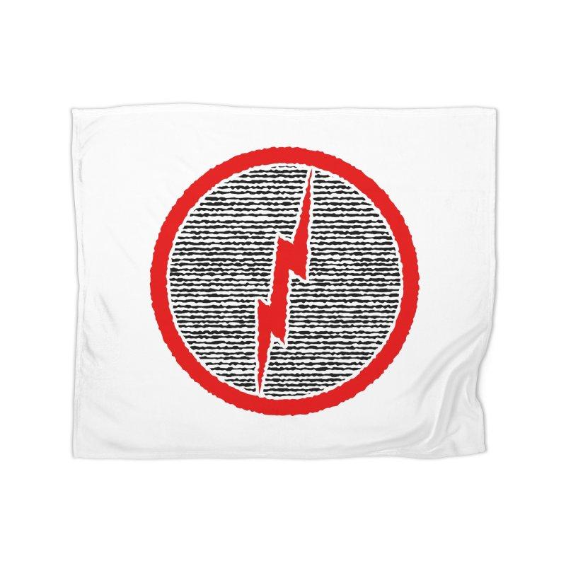 Lightning Bolt Home Blanket by Puttyhead's Artist Shop