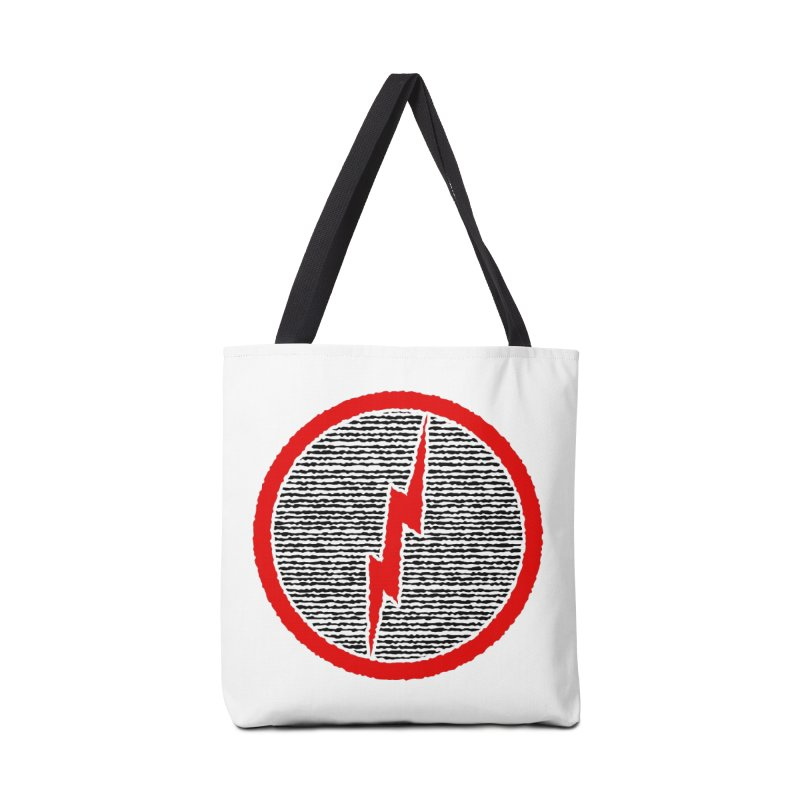 Lightning Bolt Accessories Tote Bag Bag by Puttyhead's Artist Shop