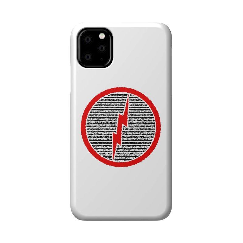 Lightning Bolt Accessories Phone Case by Puttyhead's Artist Shop