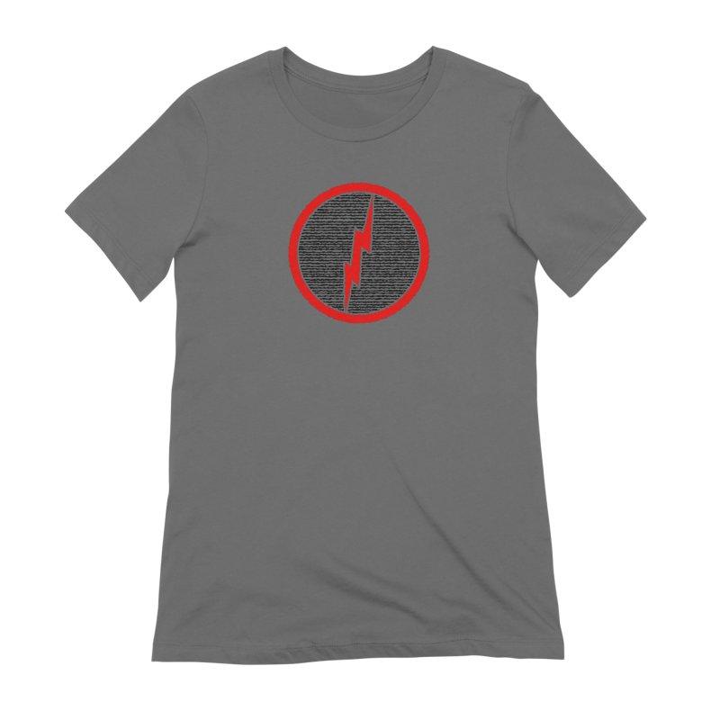 Lightning Bolt Women's Extra Soft T-Shirt by Puttyhead's Artist Shop