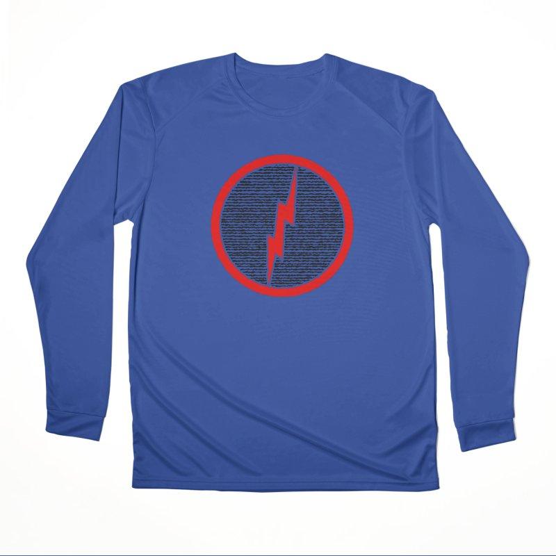 Lightning Bolt Men's Performance Longsleeve T-Shirt by Puttyhead's Artist Shop