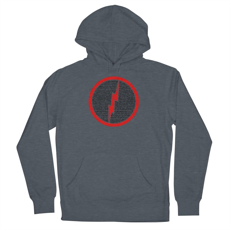 Lightning Bolt Women's French Terry Pullover Hoody by Puttyhead's Artist Shop