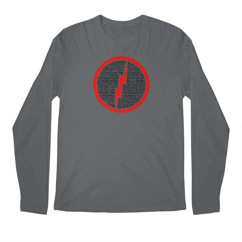 Lightning Bolt Men's Regular Longsleeve T-Shirt by Puttyhead's Artist Shop