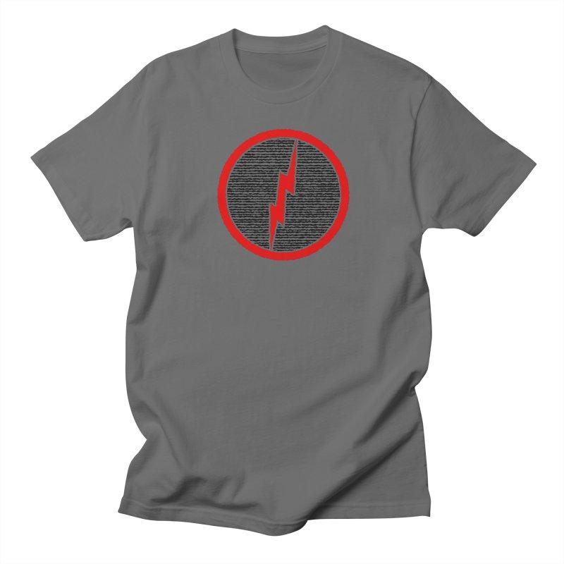 Lightning Bolt Men's T-Shirt by Puttyhead's Artist Shop