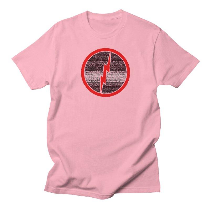 Lightning Bolt Men's Regular T-Shirt by Puttyhead's Artist Shop
