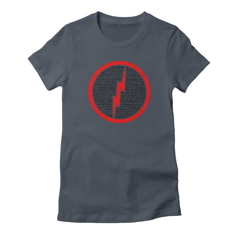 Lightning Bolt Women's T-Shirt by Puttyhead's Artist Shop