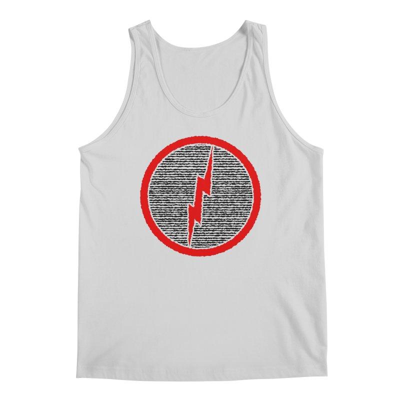 Lightning Bolt Men's Regular Tank by Puttyhead's Artist Shop