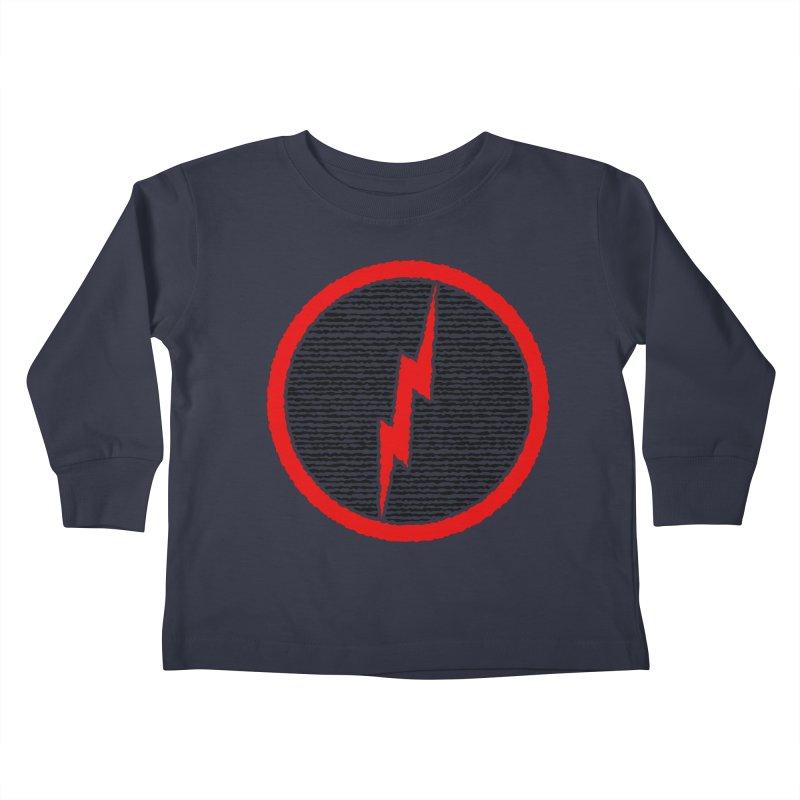 Lightning Bolt Kids Toddler Longsleeve T-Shirt by Puttyhead's Artist Shop