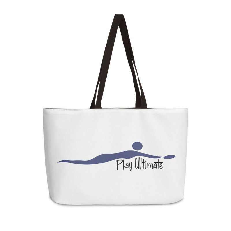 Play Ultimate One Accessories Weekender Bag Bag by Puttyhead's Artist Shop