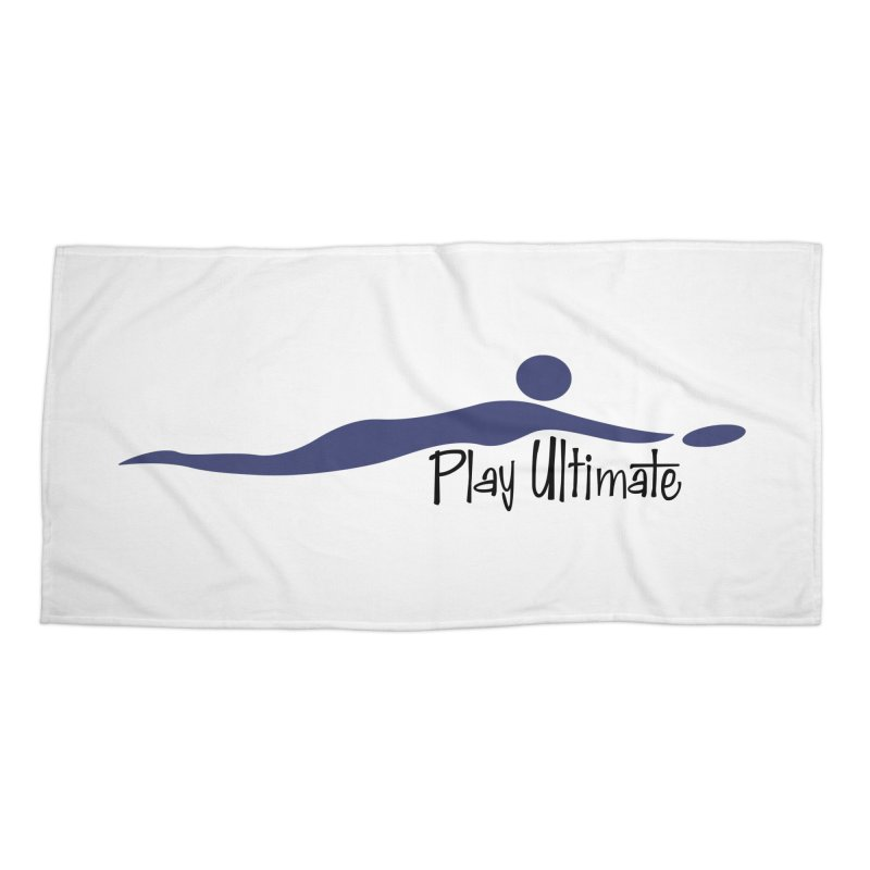 Play Ultimate One Accessories Beach Towel by Puttyhead's Artist Shop