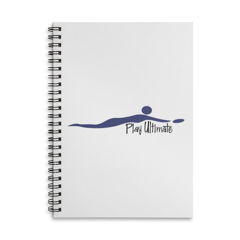 Play Ultimate One Accessories Lined Spiral Notebook by Puttyhead's Artist Shop