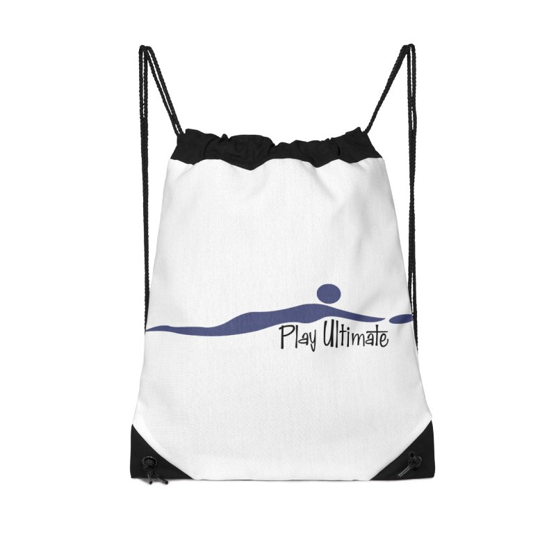 Play Ultimate One Accessories Drawstring Bag Bag by Puttyhead's Artist Shop