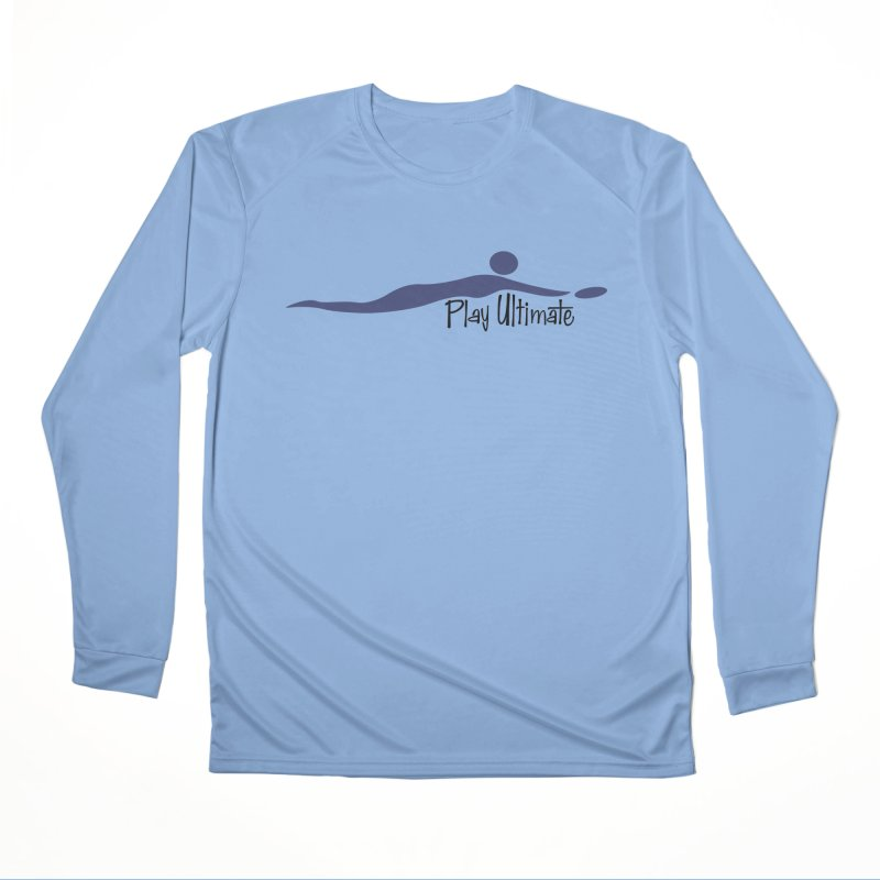 Play Ultimate One Men's Performance Longsleeve T-Shirt by Puttyhead's Artist Shop