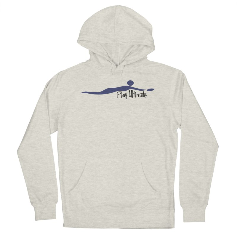 Play Ultimate One Men's French Terry Pullover Hoody by Puttyhead's Artist Shop