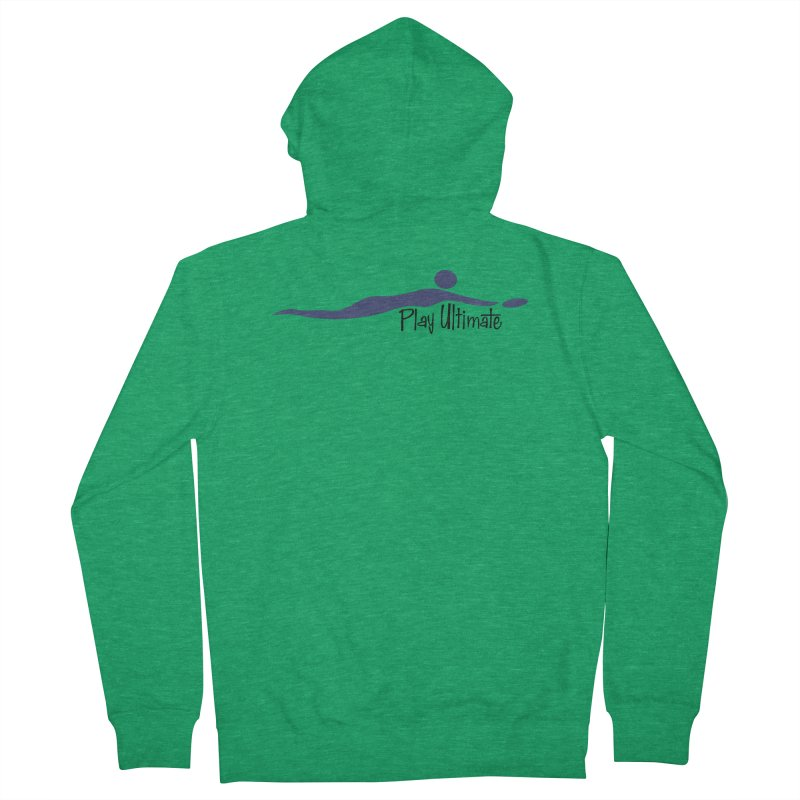 Play Ultimate One Women's French Terry Zip-Up Hoody by Puttyhead's Artist Shop