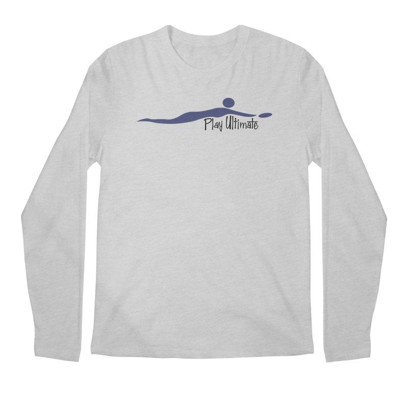 Play Ultimate One Men's Regular Longsleeve T-Shirt by Puttyhead's Artist Shop