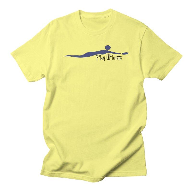 Play Ultimate One Men's Regular T-Shirt by Puttyhead's Artist Shop