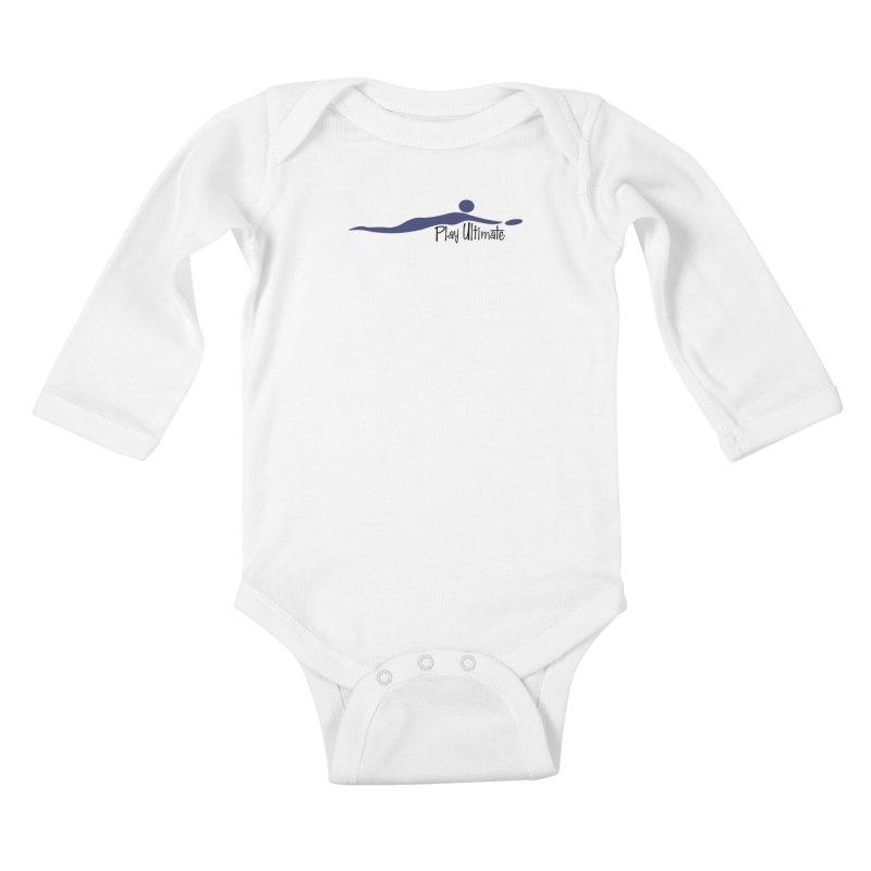 Play Ultimate One Kids Baby Longsleeve Bodysuit by Puttyhead's Artist Shop