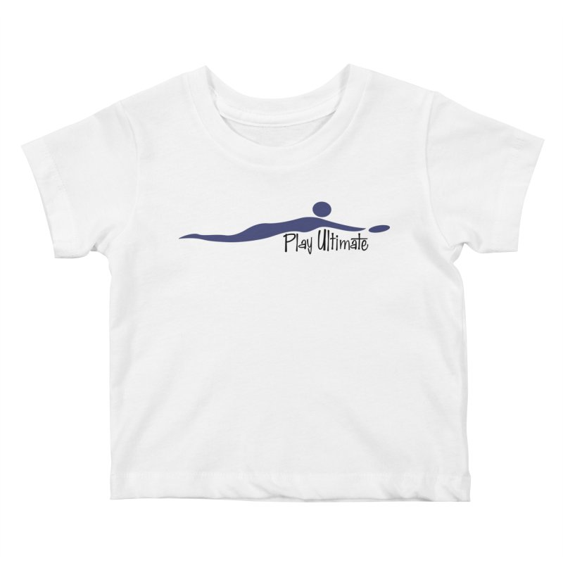 Play Ultimate One Kids Baby T-Shirt by Puttyhead's Artist Shop