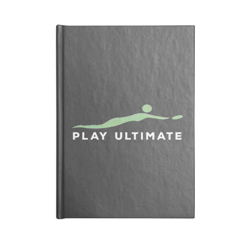 Play Ultimate Two Accessories Lined Journal Notebook by Puttyhead's Artist Shop