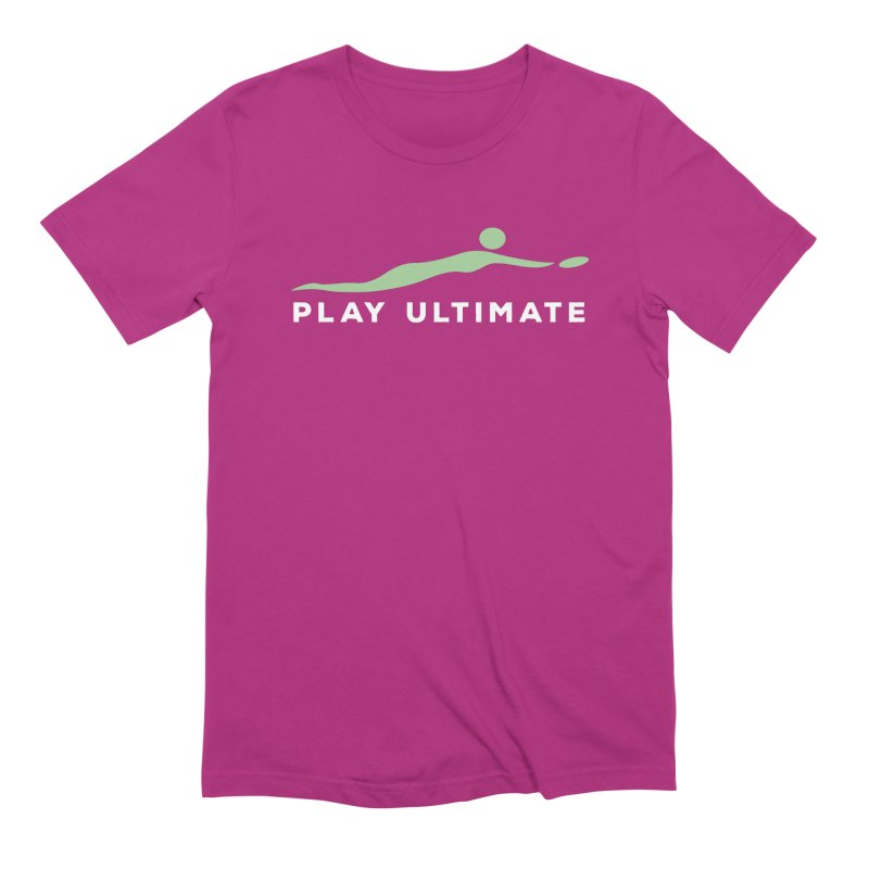Play Ultimate Two Men's Extra Soft T-Shirt by Puttyhead's Artist Shop