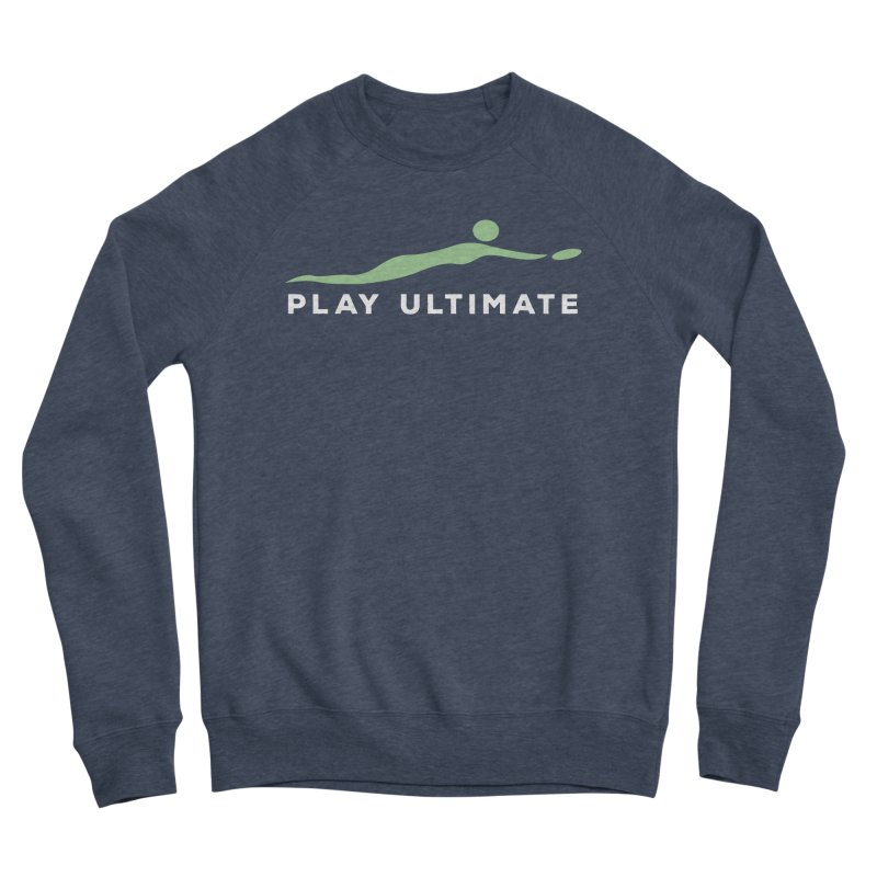 Play Ultimate Two Men's Sponge Fleece Sweatshirt by Puttyhead's Artist Shop