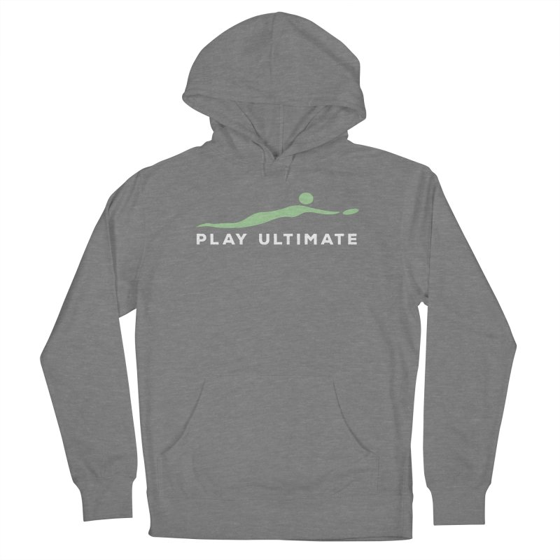 Play Ultimate Two Women's French Terry Pullover Hoody by Puttyhead's Artist Shop