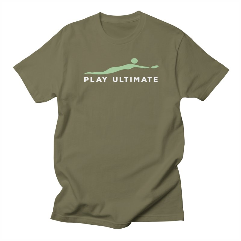 Play Ultimate Two Men's Regular T-Shirt by Puttyhead's Artist Shop