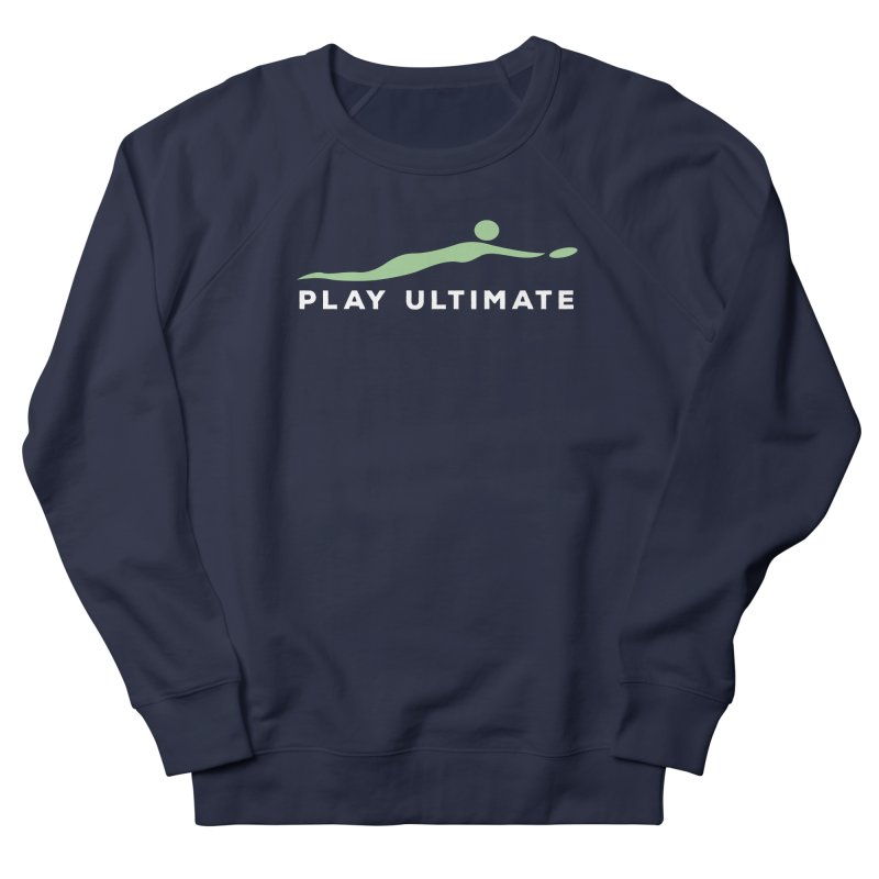 Play Ultimate Two Men's French Terry Sweatshirt by Puttyhead's Artist Shop