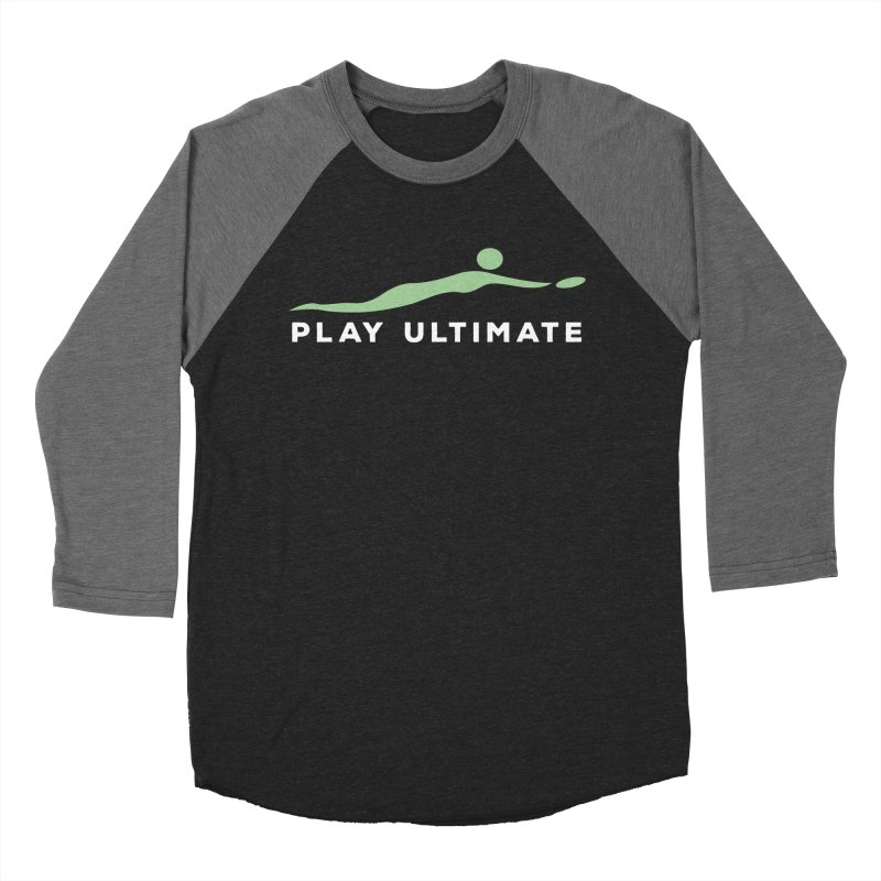 Play Ultimate Two Women's Baseball Triblend Longsleeve T-Shirt by Puttyhead's Artist Shop