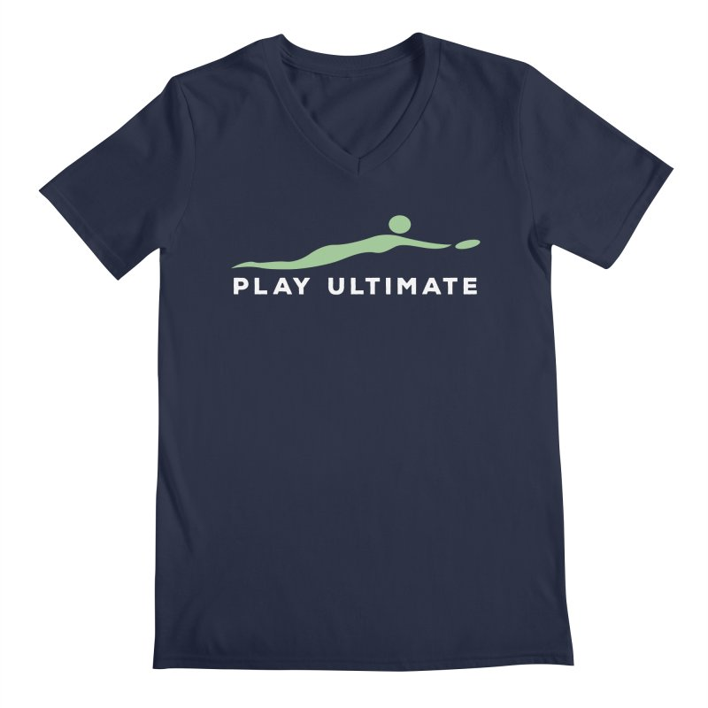 Play Ultimate Two Men's Regular V-Neck by Puttyhead's Artist Shop