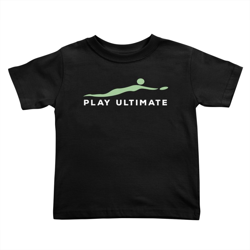 Play Ultimate Two Kids Toddler T-Shirt by Puttyhead's Artist Shop