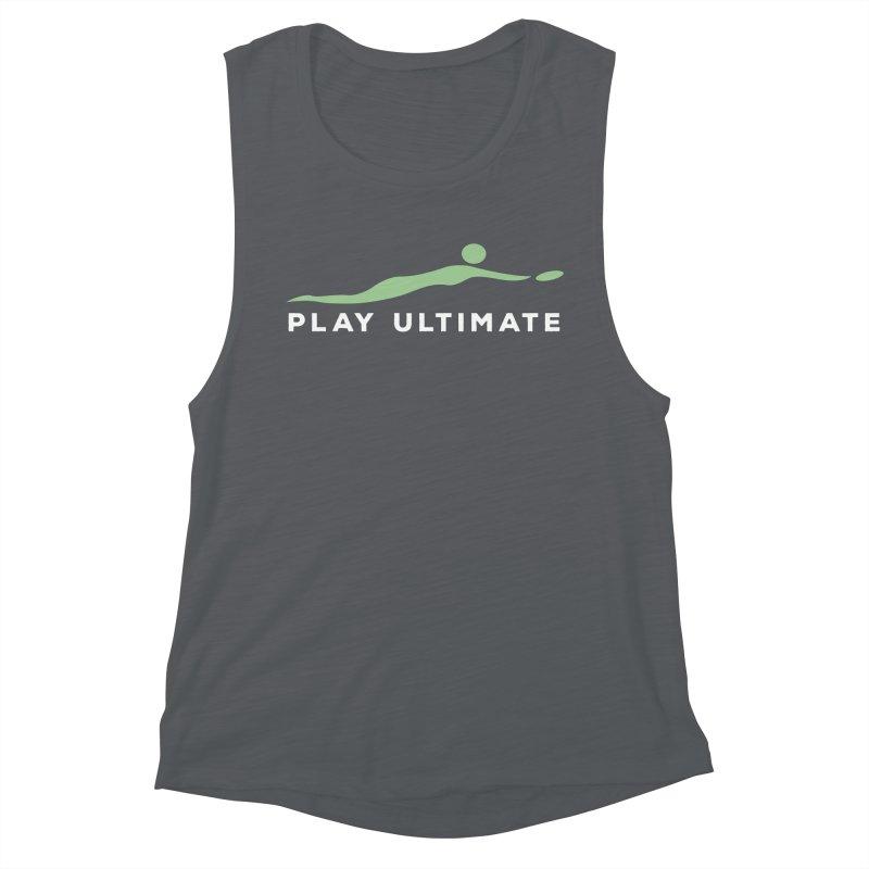 Play Ultimate Two Women's Muscle Tank by Puttyhead's Artist Shop