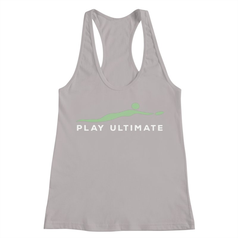 Play Ultimate Two Women's Racerback Tank by Puttyhead's Artist Shop