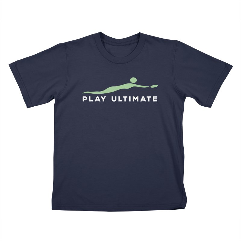 Play Ultimate Two Kids T-Shirt by Puttyhead's Artist Shop