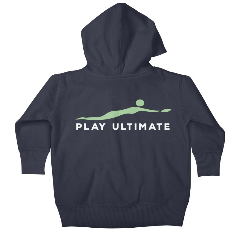 Play Ultimate Two Kids Baby Zip-Up Hoody by Puttyhead's Artist Shop