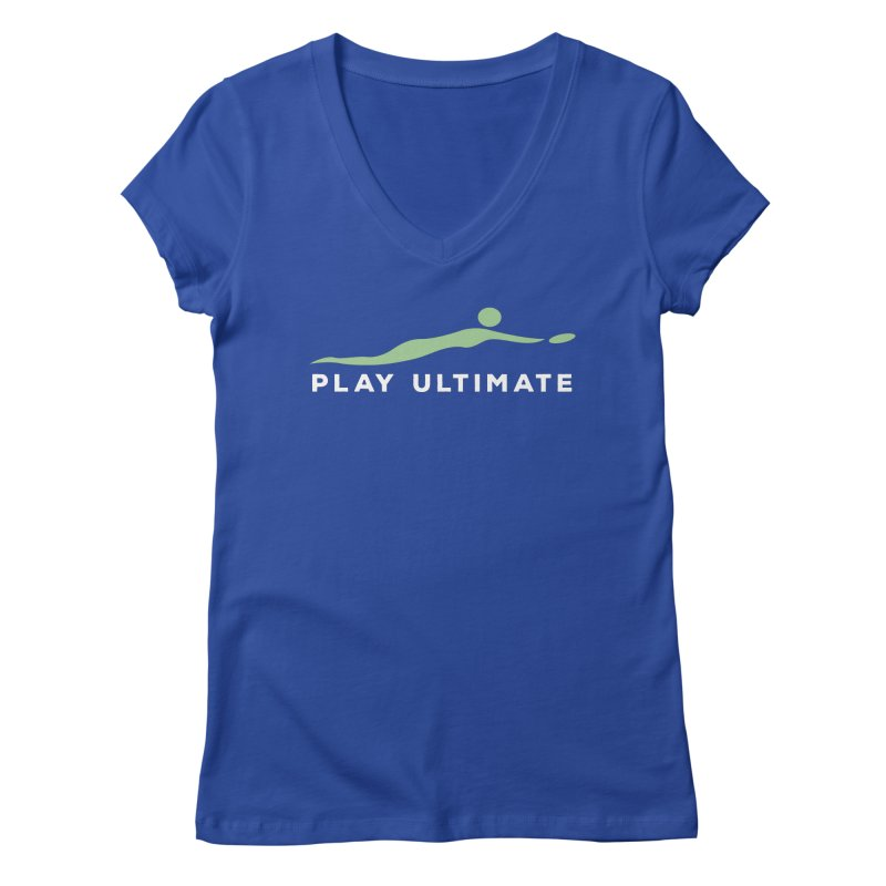 Play Ultimate Two Women's Regular V-Neck by Puttyhead's Artist Shop