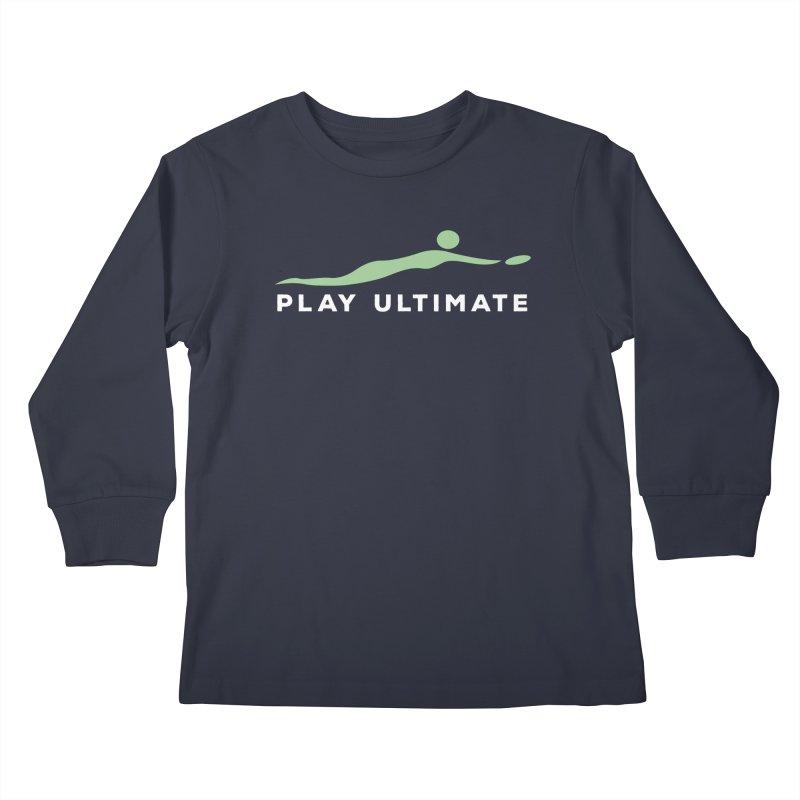 Play Ultimate Two Kids Longsleeve T-Shirt by Puttyhead's Artist Shop