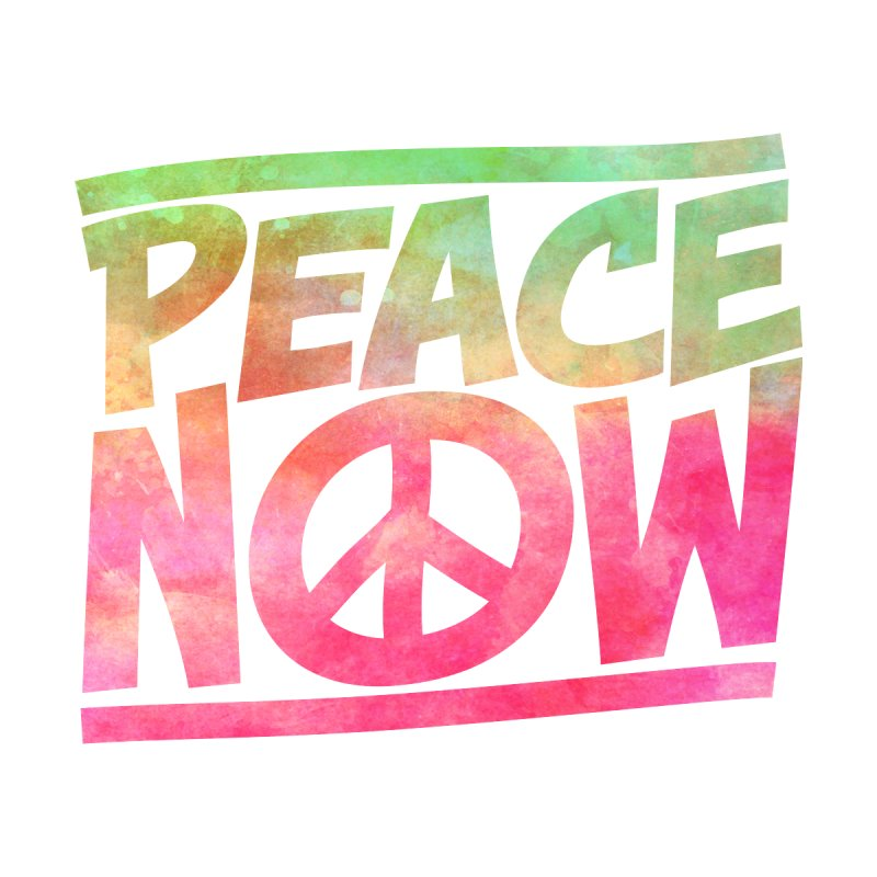 Peace Now Home Blanket by Puttyhead's Artist Shop